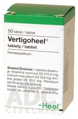 Vertigoheel tbl 1x50 ks