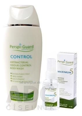 Perspi-Guard BALÍČEK (MAXIMUM 5 + CONTROL) 1x30 ml + 1x200 ml, 1x1 set
