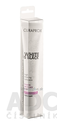 CURAPROX White is Black zubná pasta 1x90 ml