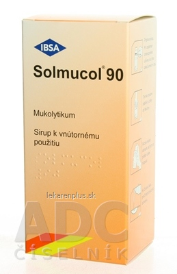Solmucol 90 ml plv sir (liek.PE) 1x90 ml