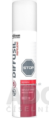 DIFFUSIL REPELENT BASIC SPRAY 1x100 ml