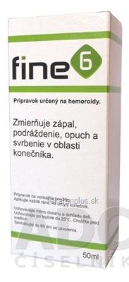Fine6 olej na hemoroidy 1x50 ml