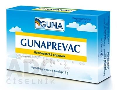 GUNAPREVAC pil dds (tuba PP/PE) 6x1 g