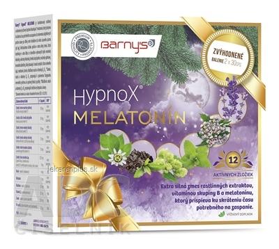 Barnys HypnoX MELATONÍN (Vianoce) cps 2x30 (60 ks)