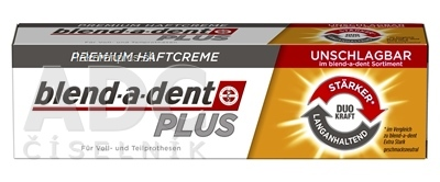 blend-a-dent PLUS DUO Power NEUTRAL premium fixačný dentálny krém 1x40 g