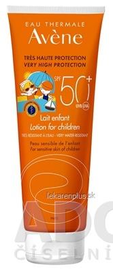 AVENE LAIT ENFANT SPF50+ (inov. 2019) mlieko pre deti, veľmi vysoká ochrana citlivej kože 1x250 ml