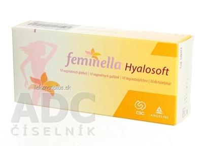 Feminella Hyalosoft vaginálne gulôčky 1x10 ks