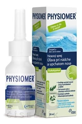 PHYSIOMER Nosový sprej Eukalyptus spr 1x20 ml