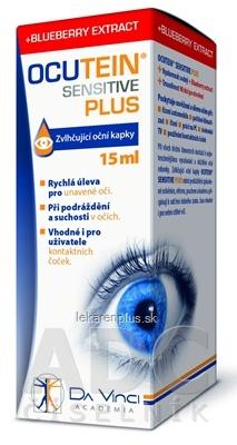 OCUTEIN SENSITIVE PLUS očné kvapky 1x15 ml