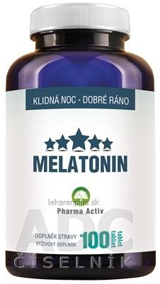 Pharma Activ MELATONIN tbl (inov.2019) 1x100 ks