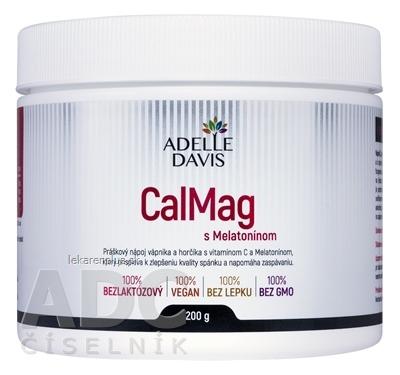 ADELLE DAVIS CalMag s Melatonínom práškový nápoj 1x200 g
