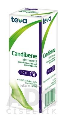 CANDIBENE aer der (fľ.skl.hnedá) 1x40 ml