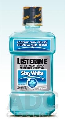 LISTERINE STAY WHITE ústna voda 1x250 ml