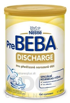 PreBEBA DISCHARGE plv (špeciálna výživa dojčiat, od narodenia) 1x400 g