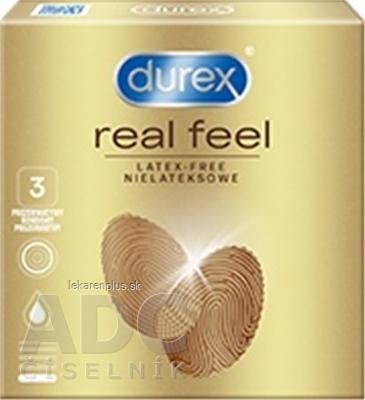 DUREX Real Feel nelatexový kondóm 1x3 ks