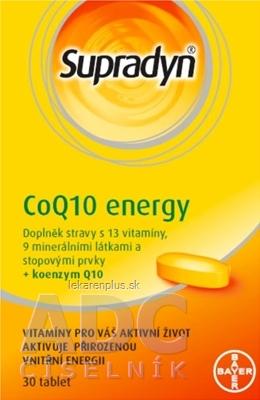 Supradyn CoQ10 Energy tbl 1x30 ks