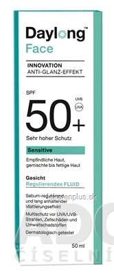 Daylong Sensitive Face SPF 50+ fluid 1x50 ml