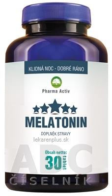 Pharma Activ MELATONIN tbl 1x30 ks