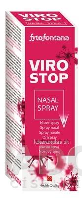 fytofontana VIROSTOP nasal spray nosový sprej 1x20 ml