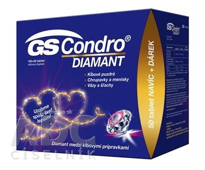 GS Condro DIAMANT darček 2020 tbl 100+50 navyše (150 ks)