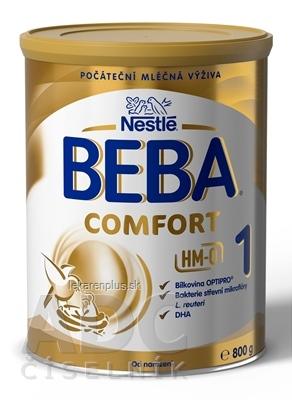 BEBA COMFORT 1 HM-O počiatočná mliečna výživa (od narodenia) 1x800 g