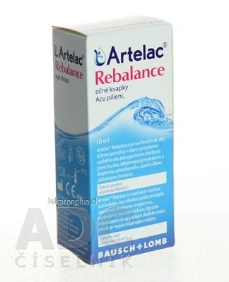 Artelac Rebalance očné kvapky 1x10 ml