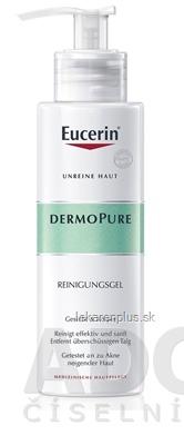 Eucerin DERMOPURE hĺbkovo čistiaci gél problematická pleť 1x400 ml