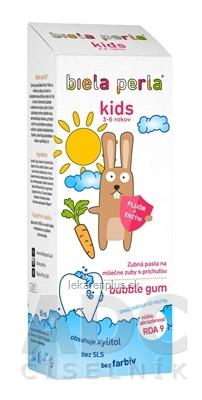 Biela perla Kids zubná pasta (3-6 rokov) 1x50 ml