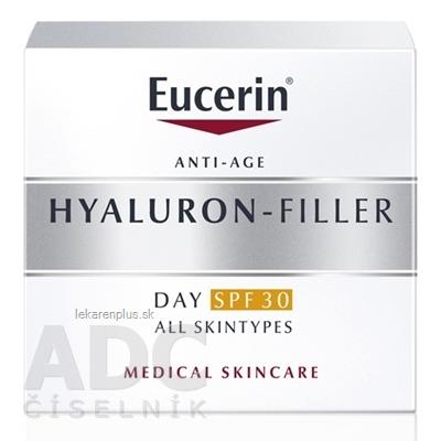 Eucerin HYALURON-FILLER Denný krém SPF 30 proti vráskam, všetky typy pleti 1x50 ml