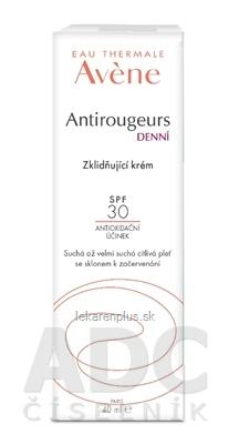 AVENE ANTIROUGEURS CREME SPF 30 (new 2020) denný upokojujúci krém 1x40 ml