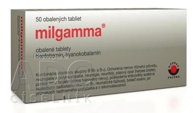 MILGAMMA tbl obd 50 mg/250 µg 1x50 ks