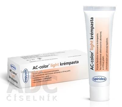 AC-color light krémpasta 1x30 g