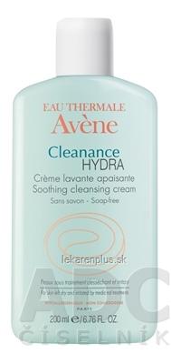 AVENE CLEANANCE HYDRA (CRÈME LAVANTE APAISANTE) (inov. 2018) upokojujúci umývací krém bez mydla 1x200 ml