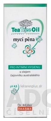Dr. Müller Tea Tree Oil UMÝVACIA PENA na intímnu hygienu 1x150 ml