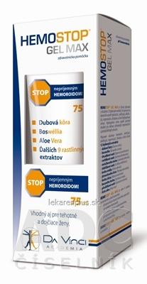 HemoStop Gél Max stop hemoroidom 1x75 ml
