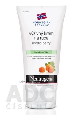 NEUTROGENA NR Výživný krém na ruky Nordic Berry 1x75 ml