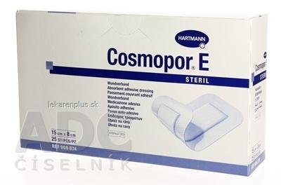 COSMOPOR E STERIL obväz na rany sterilný (15 x 8 cm) 1x25 ks