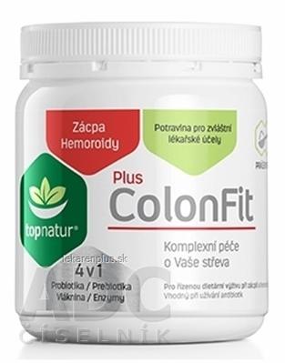 topnatur ColonFit PLUS enzýmy 4v1 prášok 1x180 g