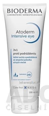 BIODERMA Atoderm Intensive eye krém očný 3v1 proti podráždeniu 1x100 ml