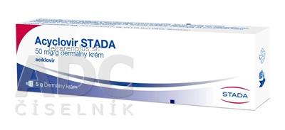 Acyclovir STADA crm (tuba Al) 1x5 g