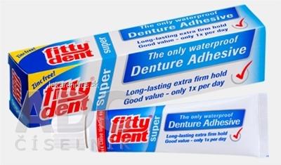 FITTYDENT super Fixačný krém na zubné náhrady (Denture adhesive) 1x40 g