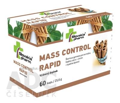 Slovakiapharm MASS CONTROL RAPID cps 1x60 ks