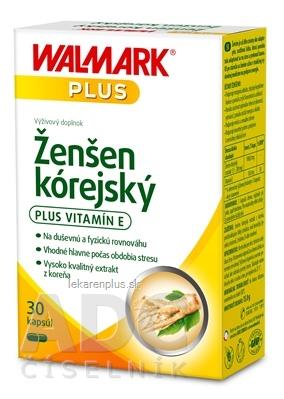 WALMARK Ženšen kórejský cps (inov. obal 2018) 1x30 ks