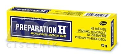 PREPARATION H ung rec (tuba Al) 1x25 g