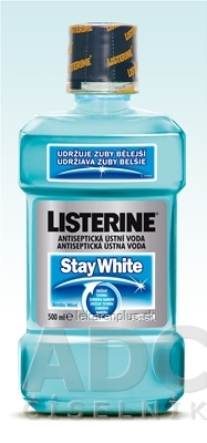LISTERINE STAY WHITE ústna voda 1x500 ml