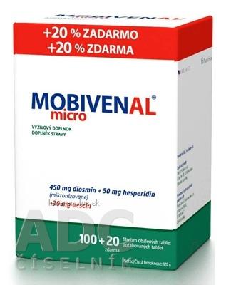 MOBIVENAL micro tbl flm 100+20 zadarmo (120 ks)