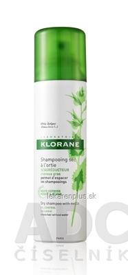 KLORANE SHAMPOOING SEC à lOrtie suchý šampón s výťažkom zo žihľavy na mastné vlasy (inov.2014) 1x150 ml