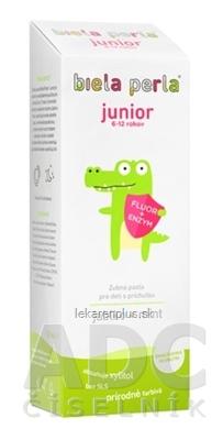 Biela perla Junior zubná pasta (6-12 rokov) 1x50 ml