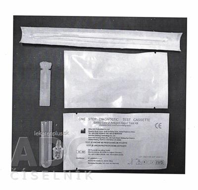 RapiClear SARS-CoV-2 súprava rýchleho testovania antigénov (koloidné zlato) 1x1 set
