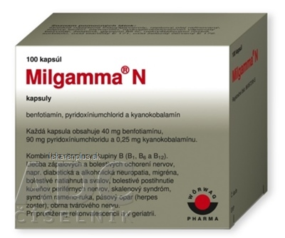 MILGAMMA N cps 1x100 ks